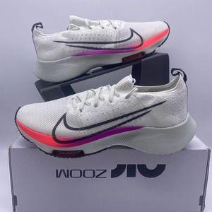 Nike Air Zoom Tempo FK GS CJ2102 NEXT% Flyknit 6.5Y Women's 8 NO LID RUNNING
